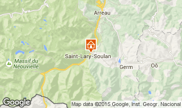 Mapa Saint Lary Soulan Apartamento 101407