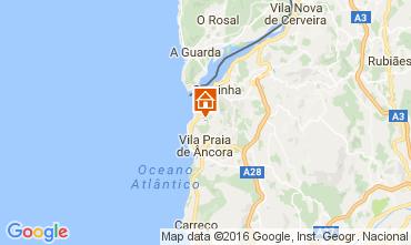 Mapa Viana Do castelo Casa rural 106151
