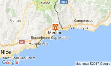 Mapa Menton Apartamento 107752