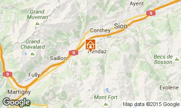 Mapa Nendaz Chalet 4726