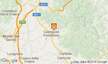 Mapa Arezzo Villa 11865