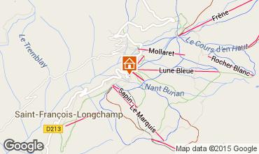 Mapa Saint François Longchamp Apartamento 64015