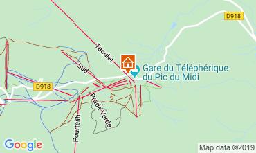 Mapa La Mongie Estudio 102286