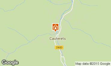 Mapa Cauterets Apartamento 4071