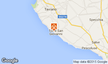 Mapa Ugento - Torre San Giovanni Apartamento 32426