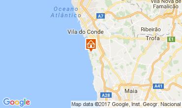 Mapa Vila do Conde Villa 110247