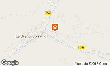 Mapa Le Grand Bornand Apartamento 1360
