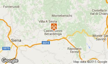 Mapa Castelnuovo Berardenga Apartamento 97274