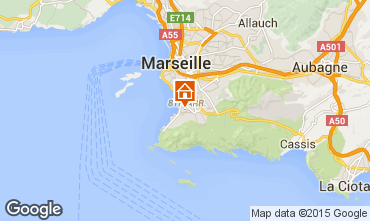Mapa Marsella Apartamento 77495