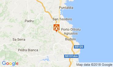 Mapa San Teodoro Apartamento 32601