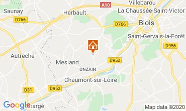 Mapa Blois Mobil home 101805