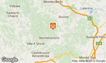 Mapa Siena Villa 75874