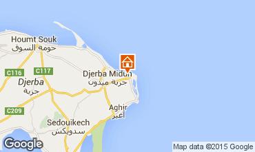 Mapa Djerba Villa 59238