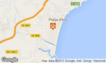 Mapa Playa d'Aro Apartamento 77393
