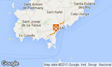 Mapa Ibiza Apartamento 96844