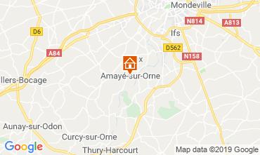 Mapa Caen Casa rural 97863