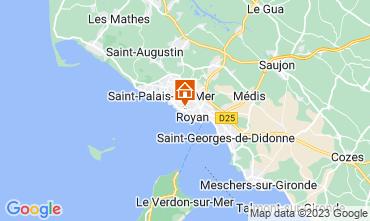 Mapa Royan Apartamento 6855