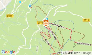 Mapa Les Arcs Chalet 89274