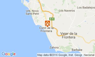 Mapa Conil de la Frontera Apartamento 103978