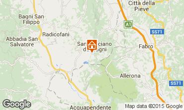 Mapa Siena Apartamento 37302