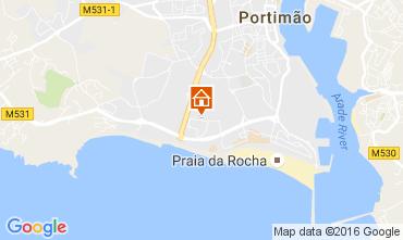 Mapa Praia da Rocha Apartamento 107137