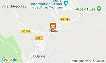 Mapa Alpe d'Huez Apartamento 116741