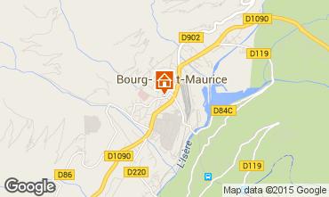 Mapa Bourg saint Maurice Apartamento 75709