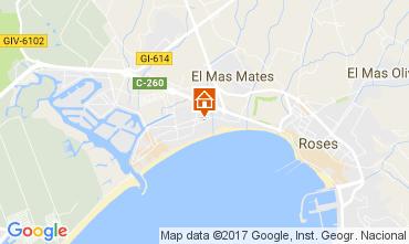 Mapa Rosas Apartamento 77609
