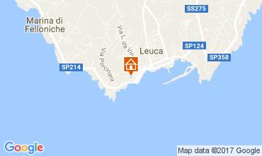 Mapa Santa Maria di Leuca Apartamento 78687