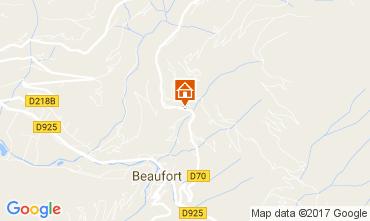 Mapa Areches Beaufort Chalet 110373