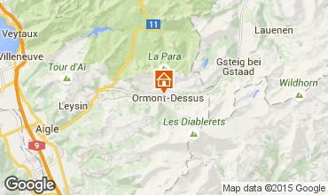 Mapa Les Diablerets Apartamento 4732