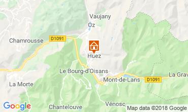 Mapa Alpe d'Huez Casa 117000
