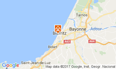 Mapa Biarritz Apartamento 107662