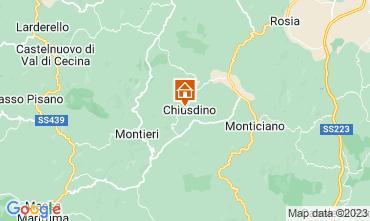 Mapa San Gimignano Apartamento 73261
