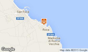 Mapa San Foca Apartamento 96428