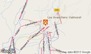Mapa Valmorel Apartamento 27090