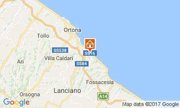 Mapa San Vito Chietino Apartamento 69058