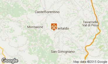 Mapa Florencia Casa 92096
