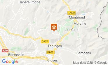 Mapa Praz de Lys Sommand Apartamento 118447