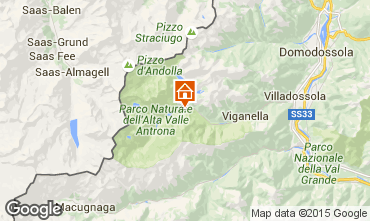 Mapa Domodossola Villa 101464