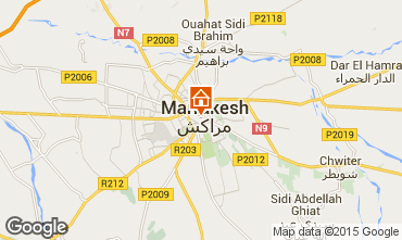 Mapa Marruecos Casa 40947