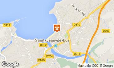 Mapa San Juan de Luz Apartamento 89774