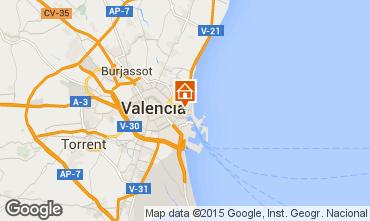 Mapa Valencia Apartamento 29381