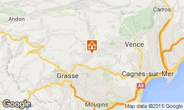 Mapa Cannes Villa 81732