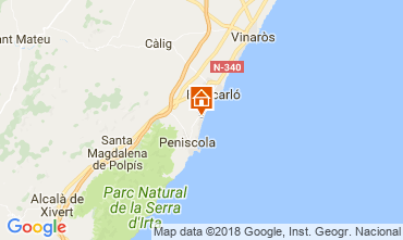 Mapa Peñíscola Apartamento 115204