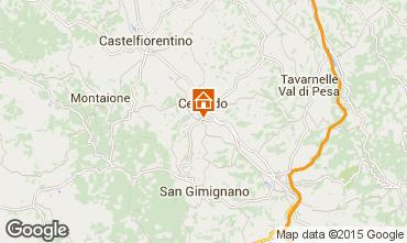 Mapa San Gimignano Apartamento 81030