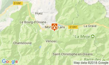 Mapa Les 2 Alpes Apartamento 101201
