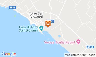 Mapa Ugento - Torre San Giovanni Apartamento 118359