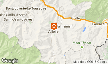 Mapa Valloire Apartamento 63869