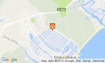 Mapa Ampuriabrava Casa 106921